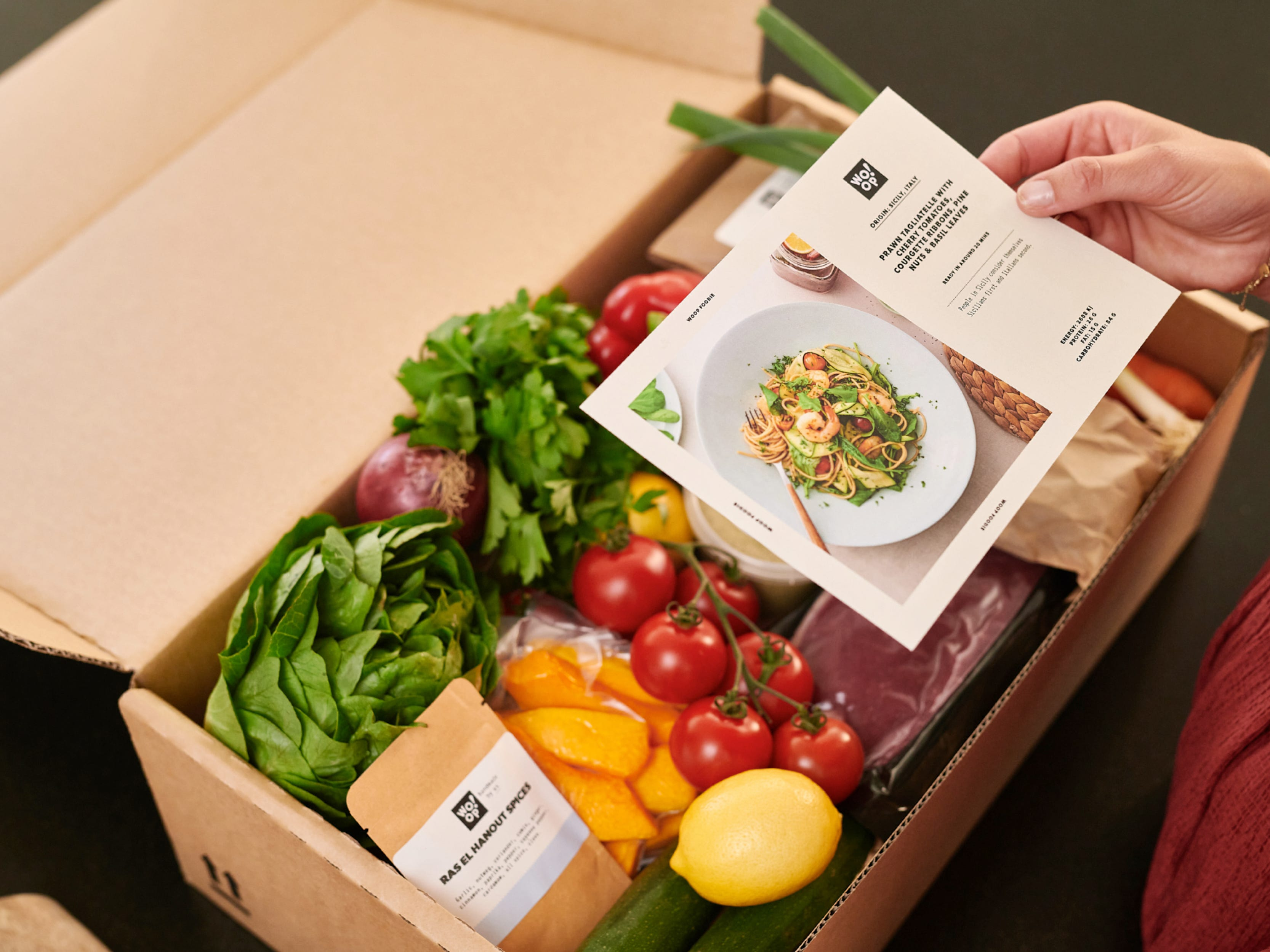 Woop's five curated menus - which Woop box are you?