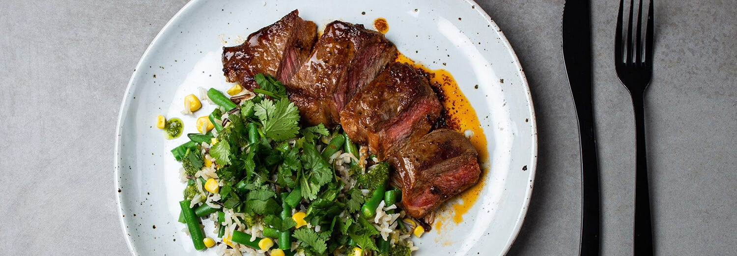 HOW TO COOK THE PERFECT STEAK IN A FRYING PAN